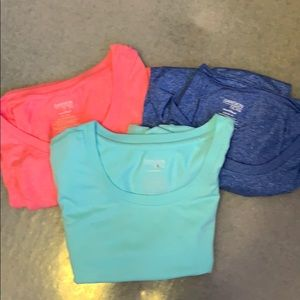 Lot of all 3. Danskin Now semi fitted T-shirts